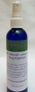 Amy's All Natural Lemon Lavender Bug Repellent