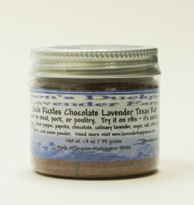 Uncle Rickles Chocolate Lavender Texas Rub