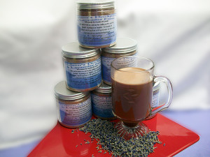 Jeffs Gourmet Hot Chocolate with Lavender