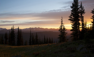 Hurricane Hill Sunset, Olympic National Park