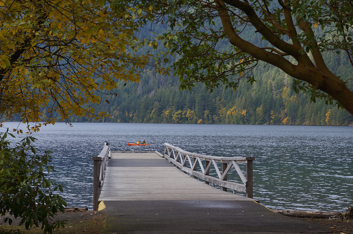 Lake Crescent Amp Sol Duc Area Nelsons Duck Pond And